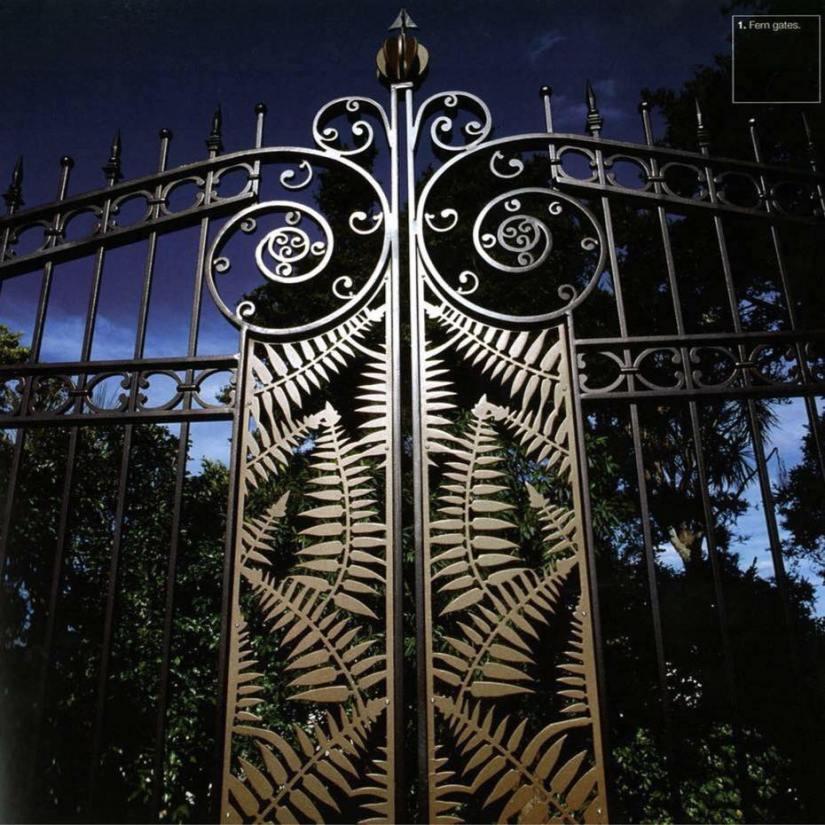 Fern Panel Gates